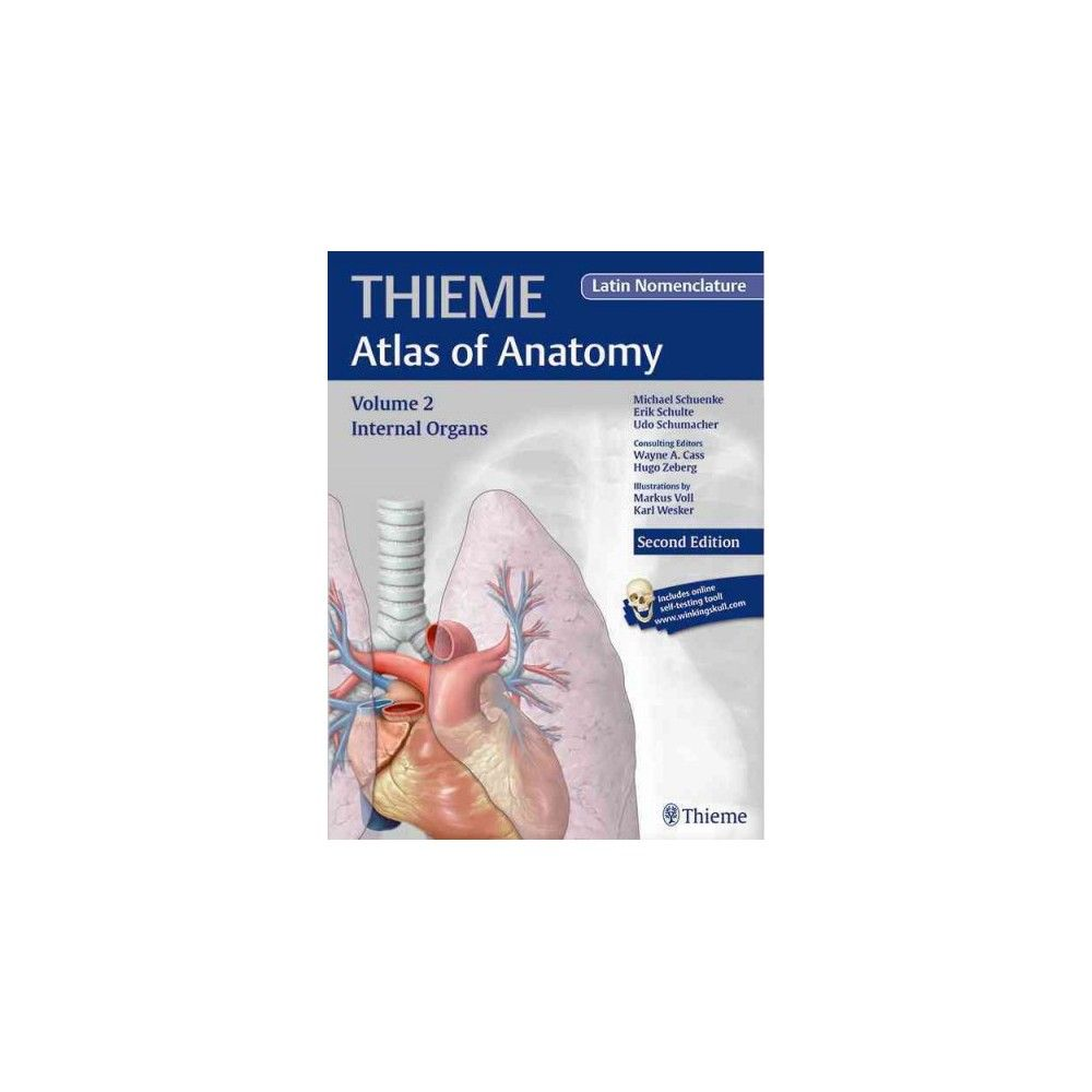 Internal Organs : Thieme Atlas of Anatomy, Latin Nomenclature ...