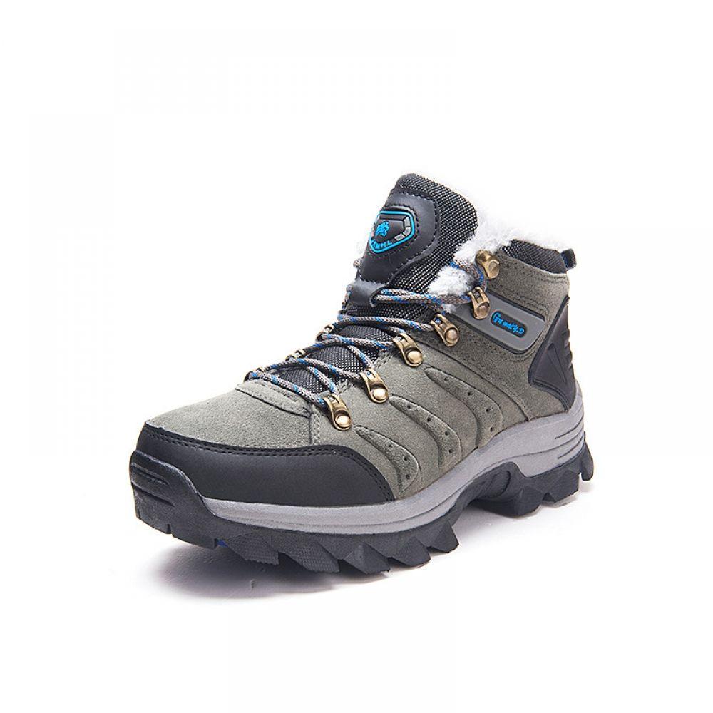7d899e3d313 online shopping-Men Winter Hiking Boots Medium Cut Snow Shoes Man ...