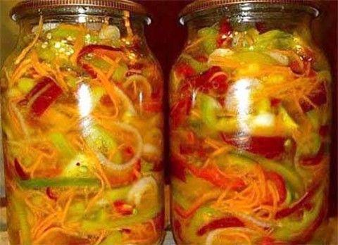 салат под водочку с красным перцем рецепт на зиму