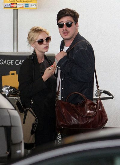 Carey Mulligan Looks to a New Project as She Hits LA With Her Husband: Carey Mulligan was with husband Marcus Mumford.