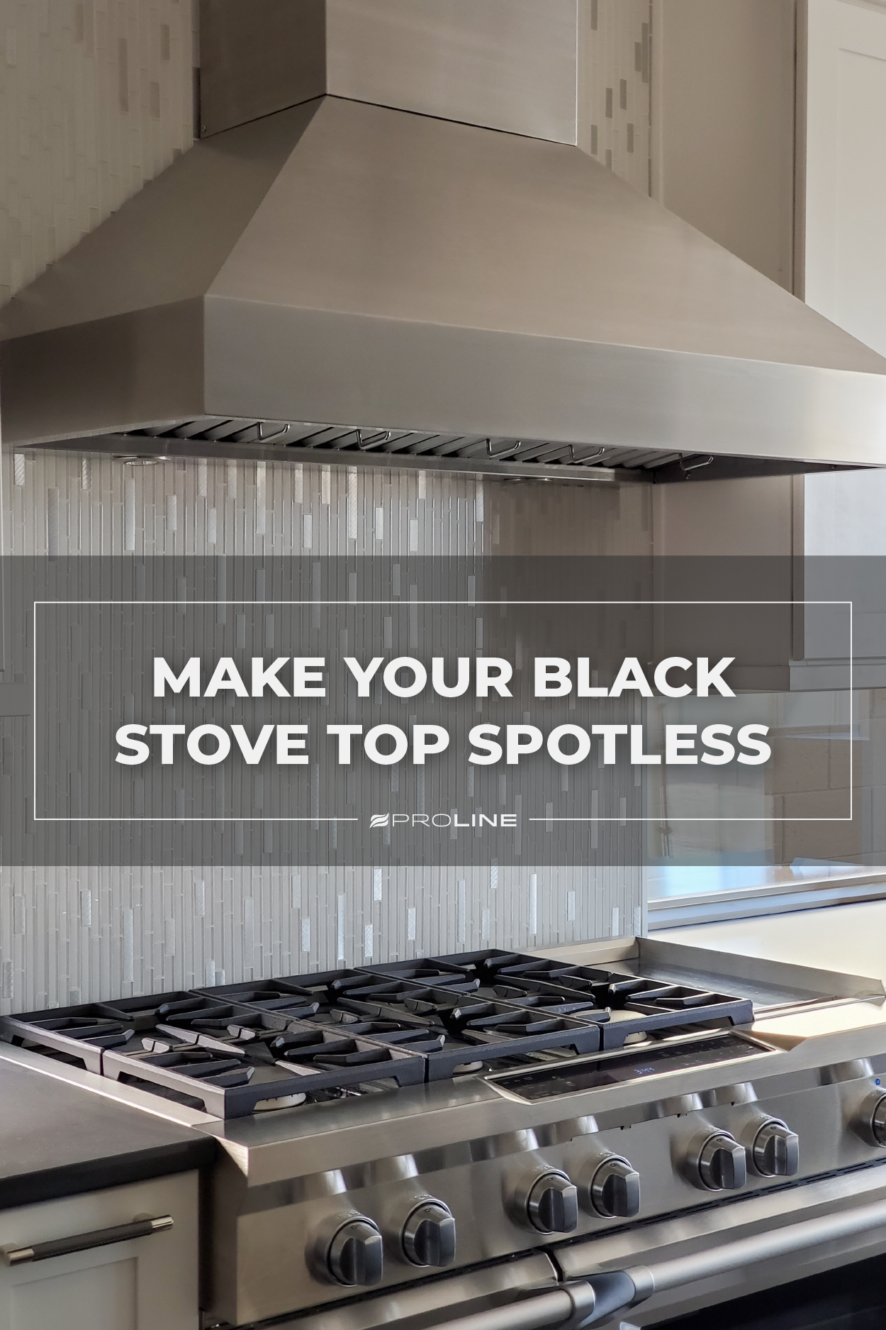 How To Clean A Black Stove Top Stove Top Stove Kitchen Design