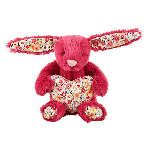 Jellycat blossom heart bunny decoration online at johnlewis shop for easter toys gifts from our gifts range at john lewis negle Choice Image