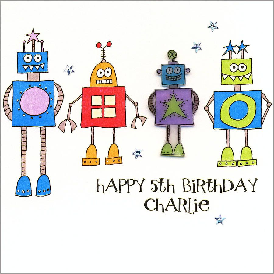 Personalised Boys Birthday Card – Boy Birthday Cards
