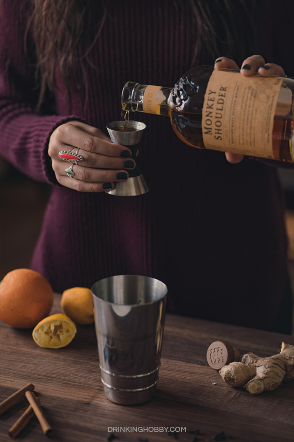 hot toddy whiskey ginger