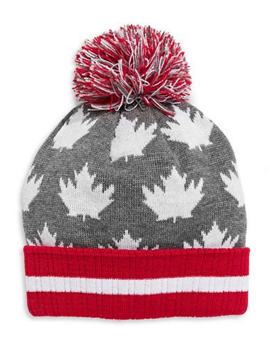 CANADIAN OLYMPIC TEAM COLLECTIONAdult Leaf-Pattern Tuque
