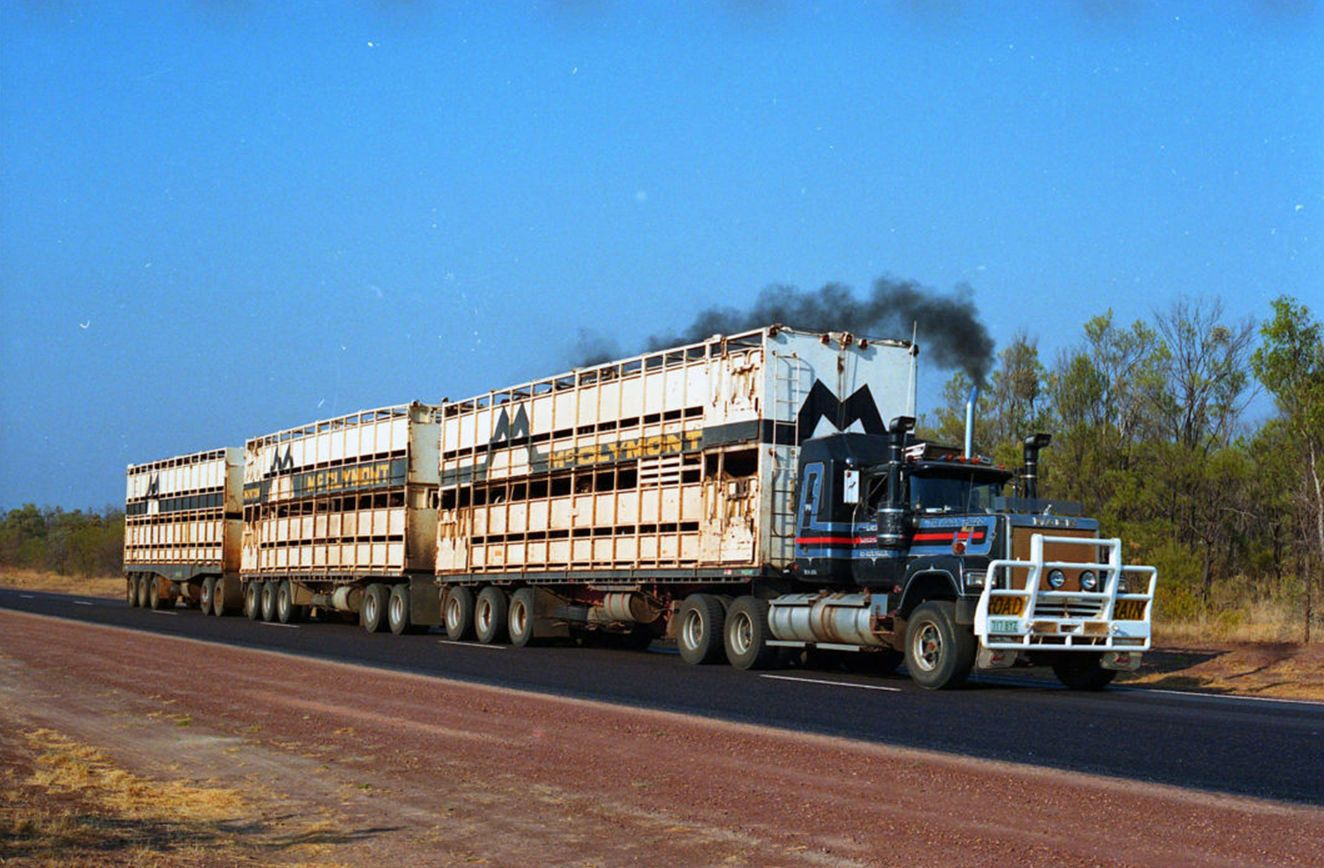 Believe what you see this is australia train truck