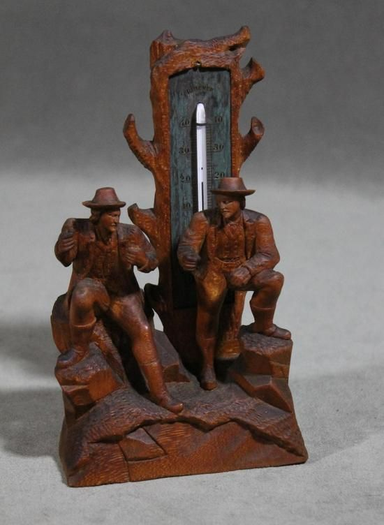Rare german wood carvings antique german black forest walnut