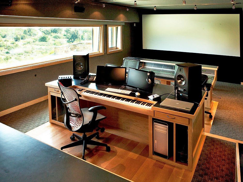 film composers marco beltrami and buck sanders wanted to create a studio that was as unique as. Black Bedroom Furniture Sets. Home Design Ideas