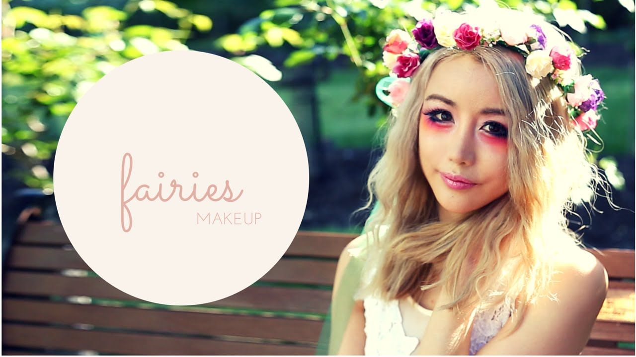 Off with the fairies fairy halloween makeup tutorial wengie off with the fairies fairy halloween makeup tutorial wengie beauty baditri Image collections