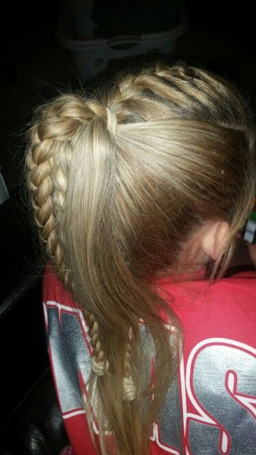 One Of My Favorite Gymnastics Hairstyles On Taylor