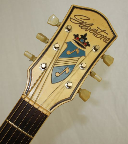 Details About Vintage 1950s Silvertone Harmony Model H1324 708