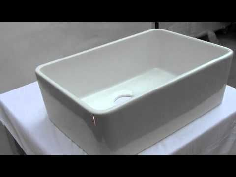 Single Bowl White Fireclay Sink Ab503 By Alfi Brand On Sale At