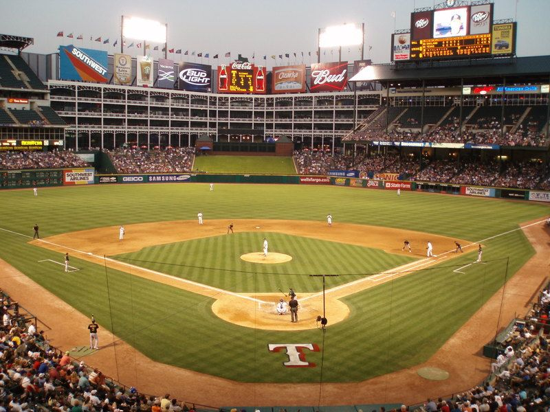 I Want To Sit Directly Behind Home Plate Just Once At A World Series And Watch The Rangers Clinch I M Texas Rangers Texas Rangers Baseball Mlb Stadiums