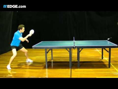 Table Tennis Coaching Forehand Counterhit Lesson By Ttedge Table Tennis Tennis Coach Table Tennis Game