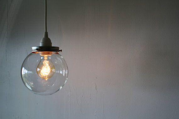 Kristallkugel Hängeleuchte Lampe Licht mit einem von BootsNGus