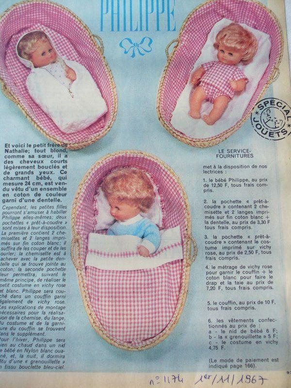 FEMME D'AUJOURD'HUI et ses poupées- 1967- PHILIPPE-