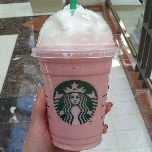 002 Starbucks Fruity Pebbles Frappuccino Starbucks