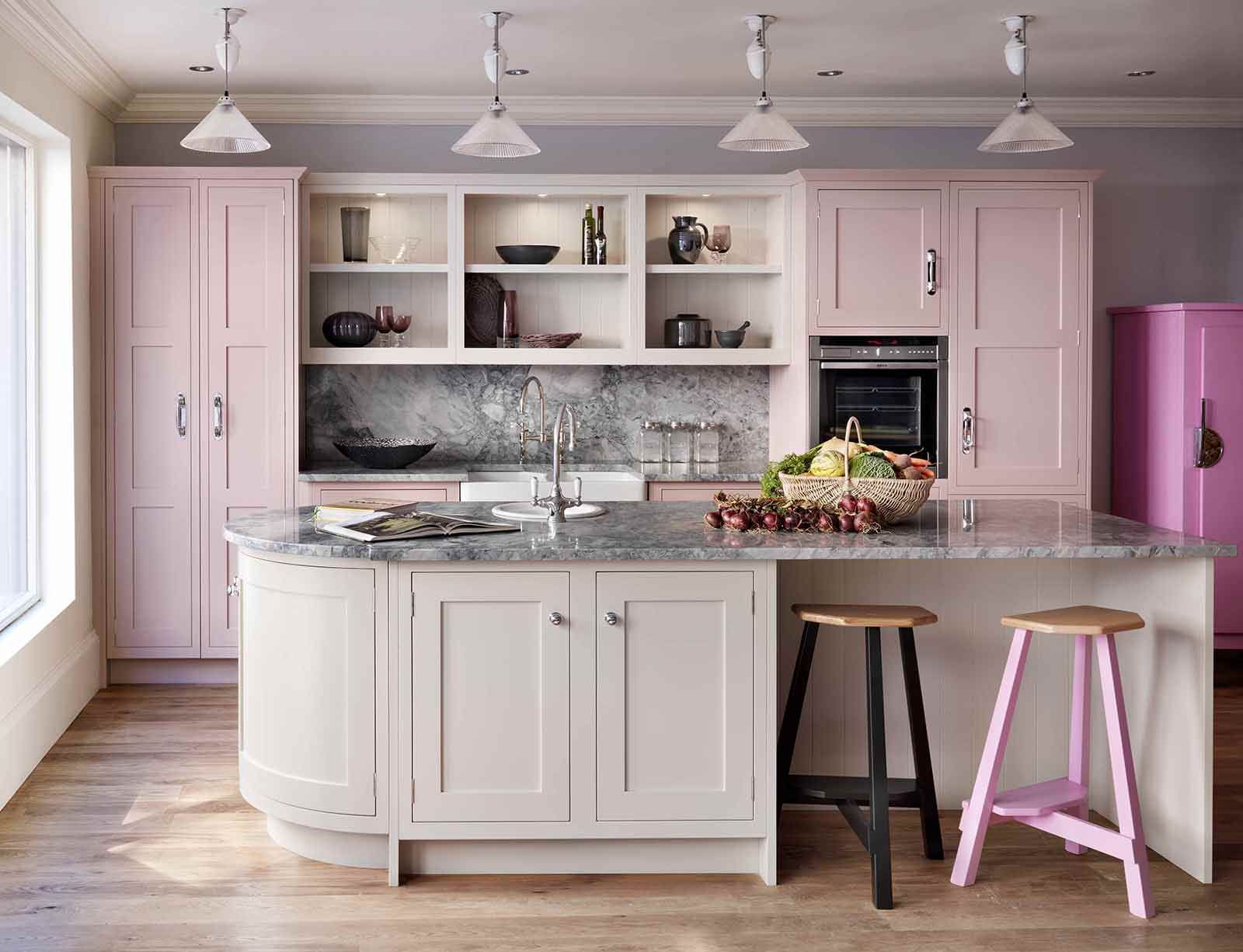 Nothing Quite Like Pastel Pink Kitchen Cabinets Laurel Wolf