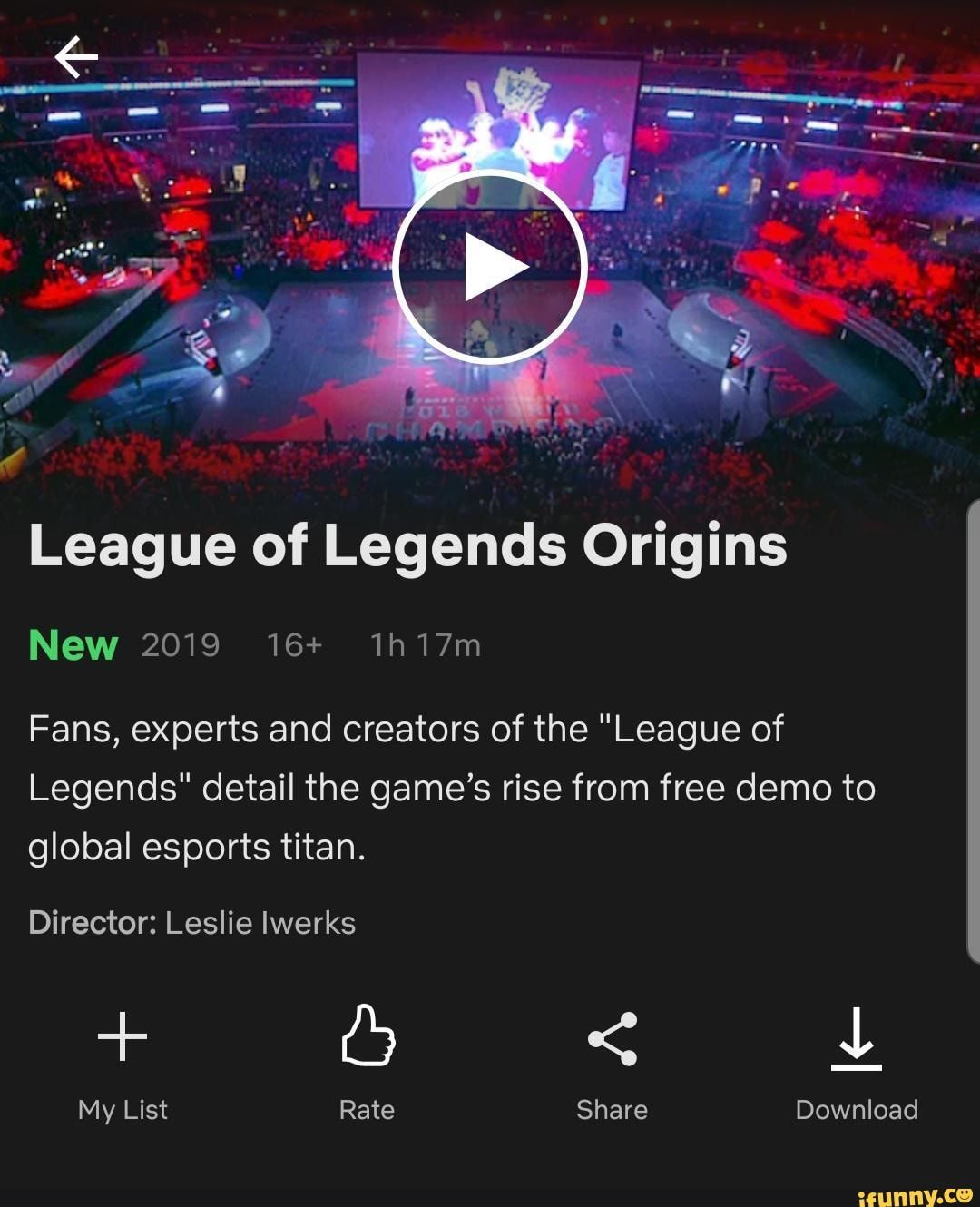 League Of Legends Origins New 2019 16 Lh17m Fans Experts And Creators Of The League Of Legends Detail The Game S Rise From Free Demo To Global Esports Tita League Of Legends