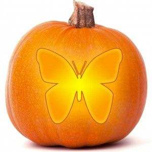 butterfly pumpkin carving templates pumpkin carving easy rh pinterest com