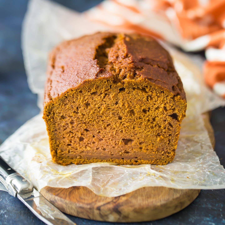 Moist Pumpkin Bread Easiest-ever Pumpkin Bread Recipe: so moist and just sweet enough, with plenty of warm fall spice!