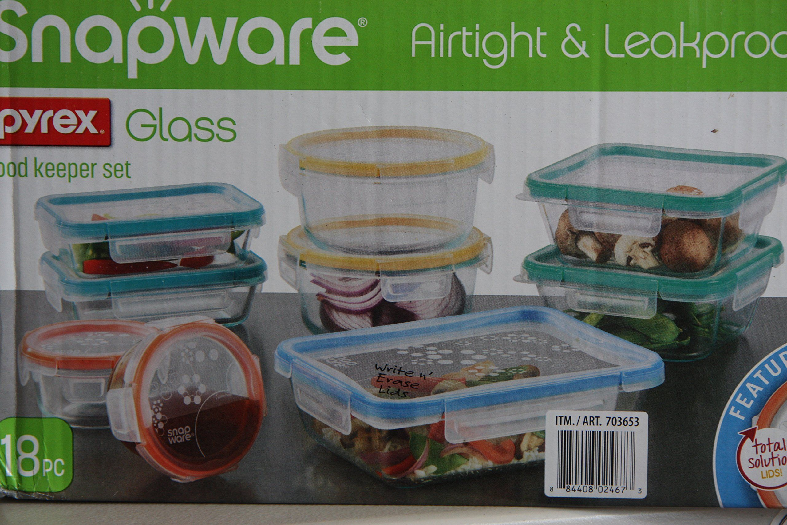 Robot Check Snapware Pyrex Glass Pyrex