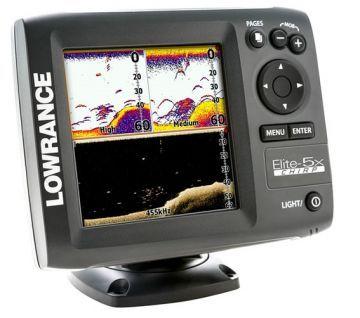 Lowrance Elite 5x Chirp Balik Bulucu Tek Ayna 4 Frekans Goruntu Ekran 5 127mm 256 Renk Turkce Menu Cozunurluk 480x480 Piksel Aynalar Renkler Ekran