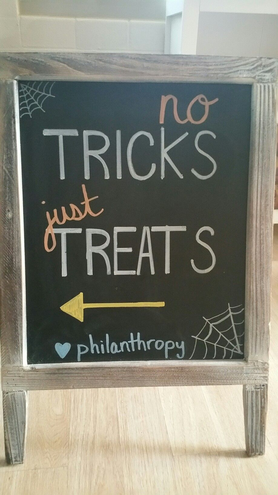 Halloween retail chalkboard sign Halloween chalkboard
