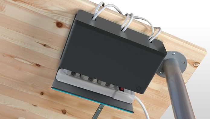 Quirky Plug Hub Desk Power Cable Organizer Multiprise Range
