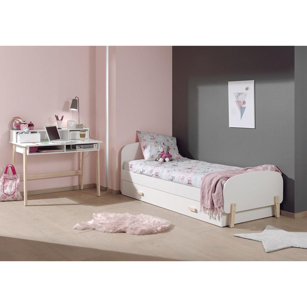 Lit Enfant Dream Tiroir Lit Taille 90x200 Cm Furniture