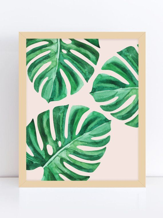 Palm Leaf Wall Decor Tropical Leaf Print Printable Palm Leaf Yoga Art For Bedroom Palm Green Green Leaf Print Printable Art Wall Art Leaf Print Art Palm Leaf Art Small Canvas About 21% of these are tapestry. palm leaf wall decor tropical leaf
