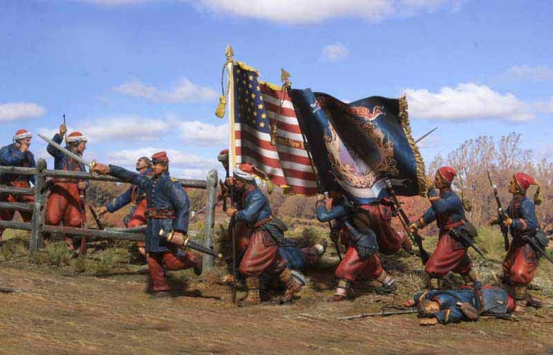 5th New York Volunteer Infantry at The Battle of Gaine's