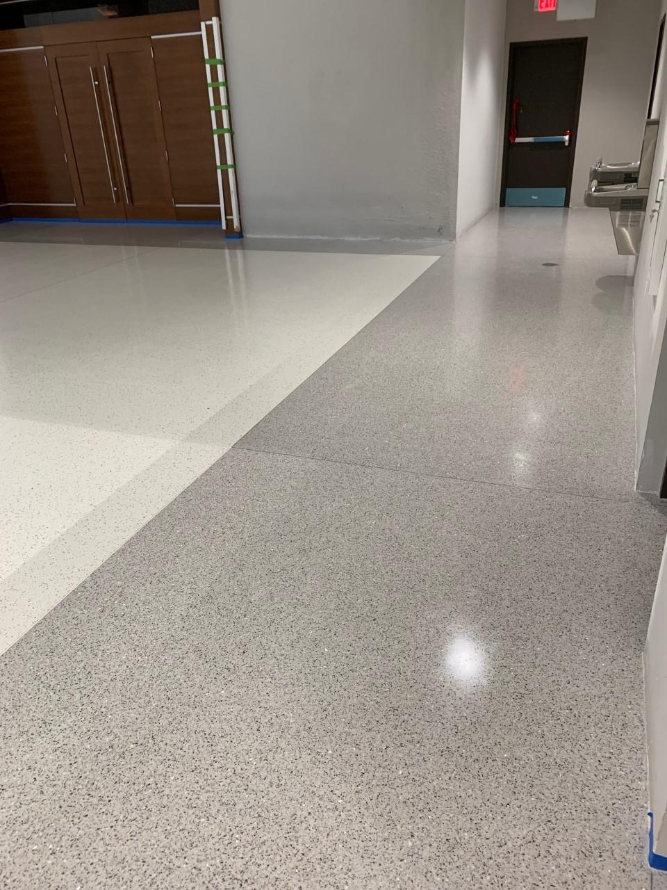 Terrazzo Flooring Installer In 2019 Terrazzo Flooring