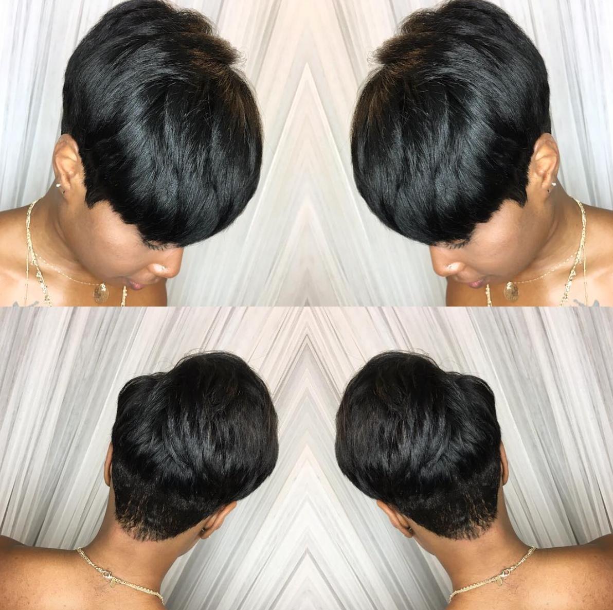 flawless quick weave @hairbylatise - https://blackhairinformation