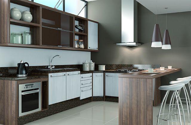A cozinha é onde os sabores misturam-se a funcionalidade, por isso, através de módulos e acessórios inteligentes é possível compor ambientes adequados as necessidades e estilo de cada pessoa.