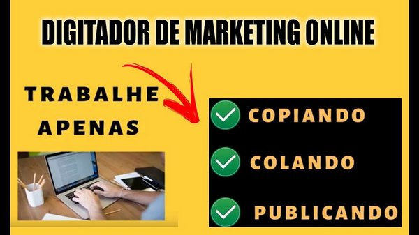 como ser digitador de marketing online