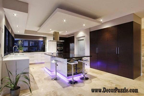 Echanting Of Modern Ceiling Design For Kitchen New Plaster Of