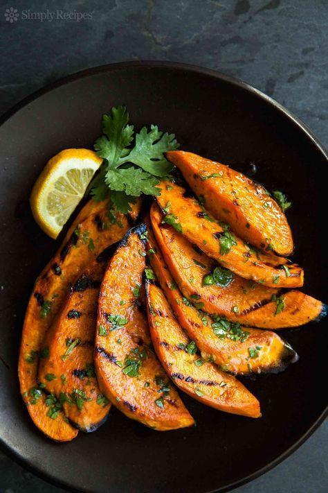Grilled Sweet Potatoes Recipe | SimplyRecipes.com