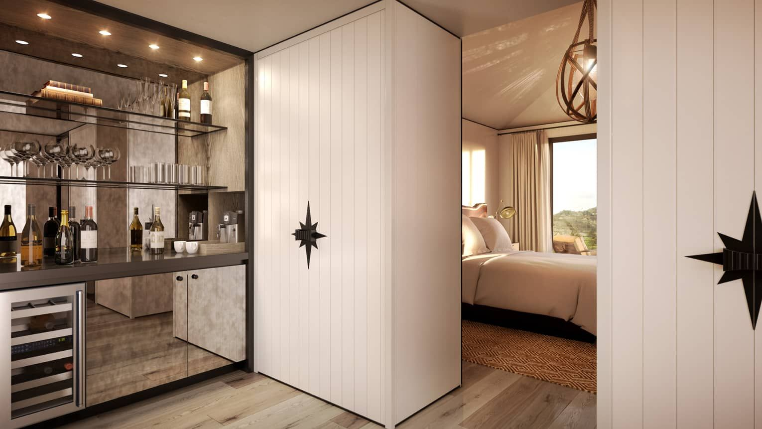 Four Seasons Napa Valley One bedroom, Luxury hotel, Two