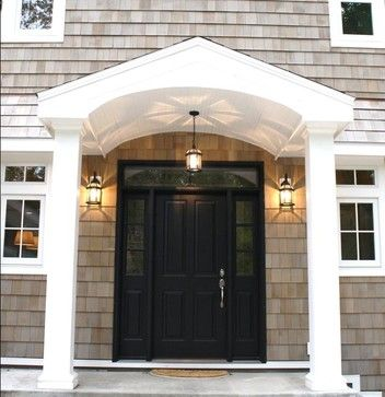 Colonial Porticos Design Ideas Pictures Remodel And Decor - Colonial portico front entrance