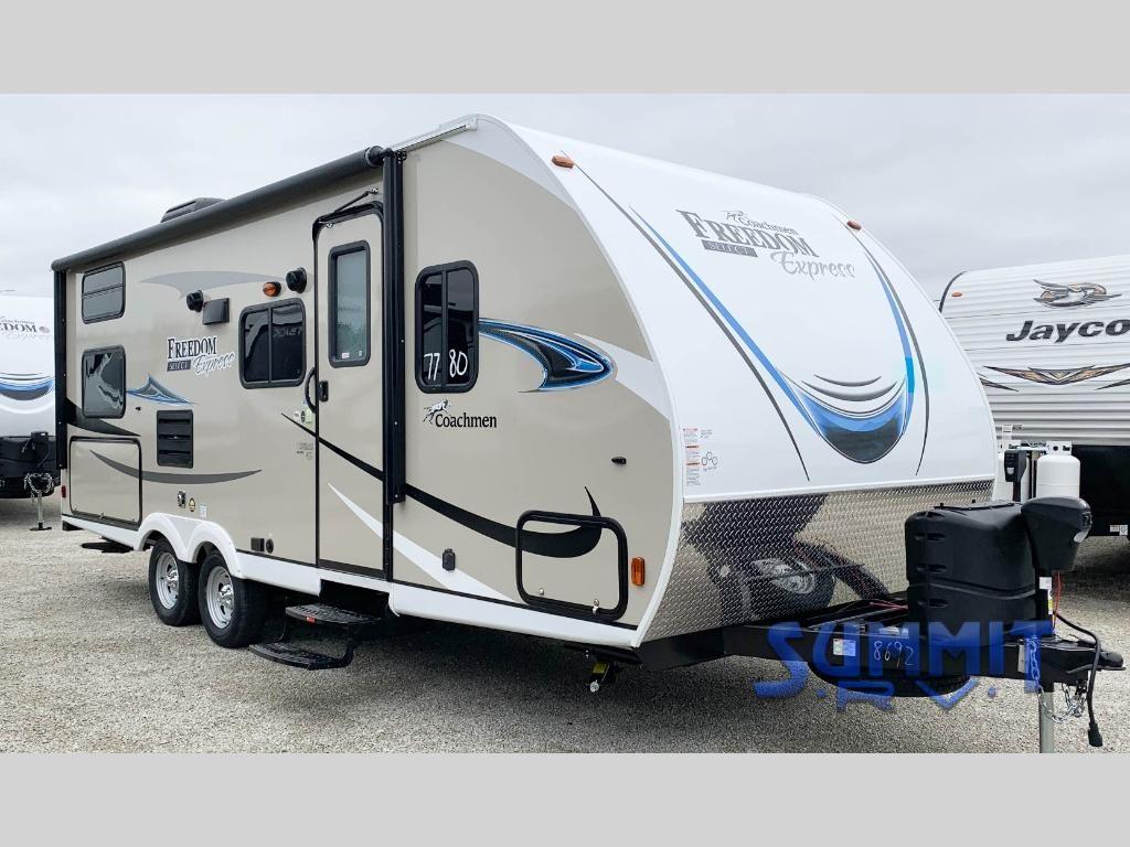 New 2019 Coachmen Rv Freedom Express Select 23 9se Travel Trailer At Summit Rv Ashland Ky 7780 Coachmen Rv Travel Trailer Rv