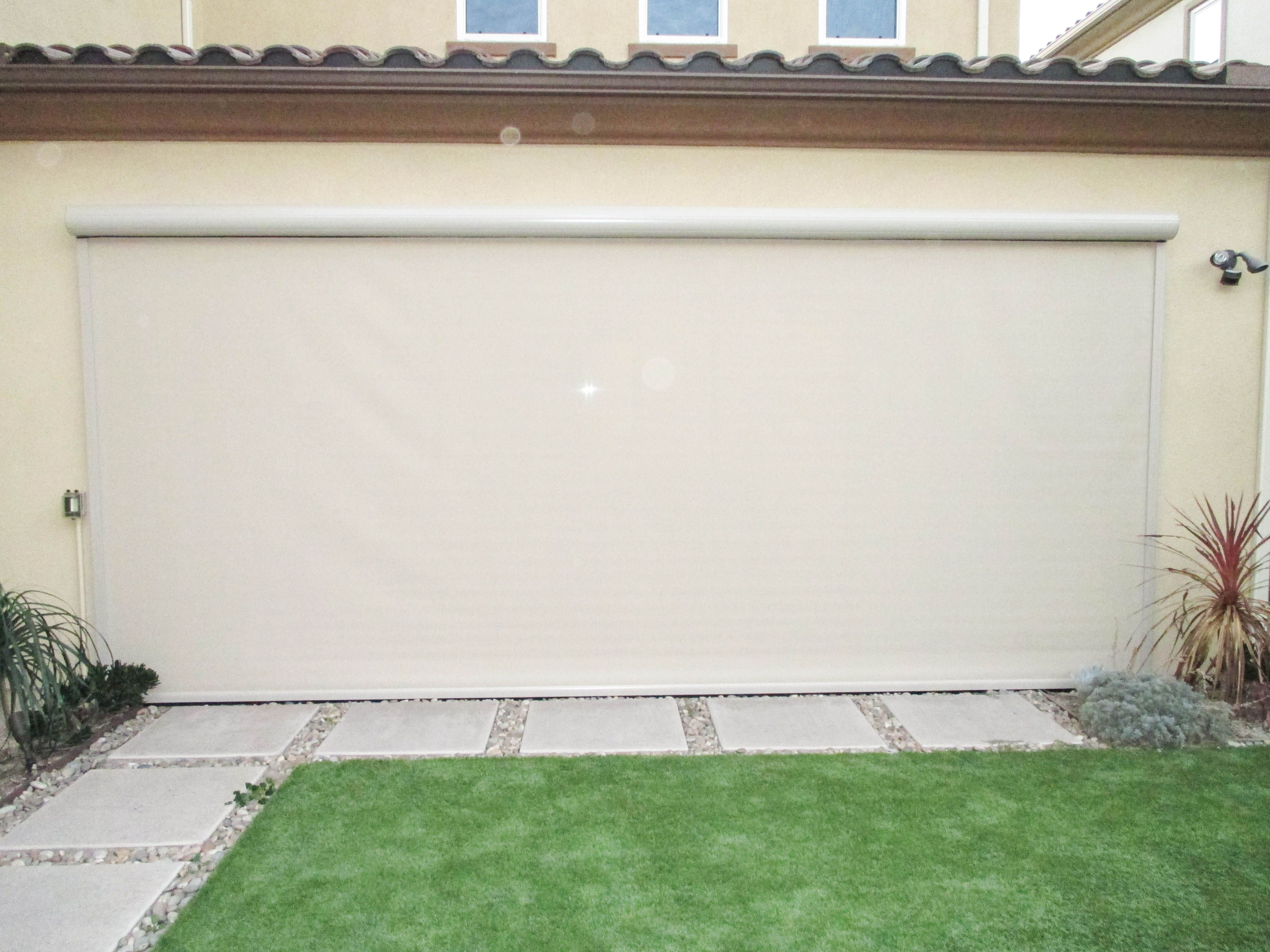 Our Team Installed This Motorized Bug And Privacy Screen On A