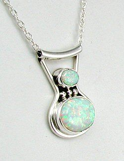 Lee shorty navajo sterling silver opal pendant with chain the lee shorty navajo sterling silver opal pendant with chain aloadofball Image collections