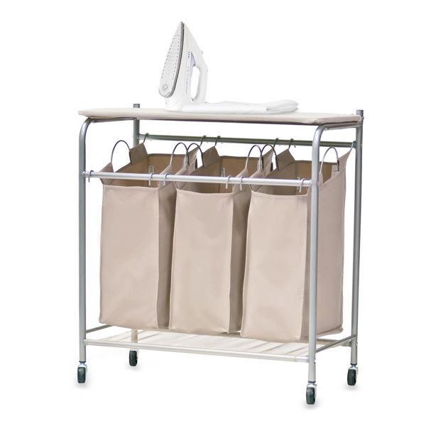 Neatfreak Triple Sorter With Ironing Board Bed Bath Beyond