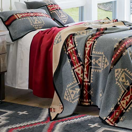Native American Inspired Blankets Crossroads Blanket By