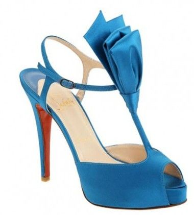 Christian Louboutin Ernesta T-Strap Satin Evening Teal Sale Outlet AVAILABILITY: IN STOCK£82.90