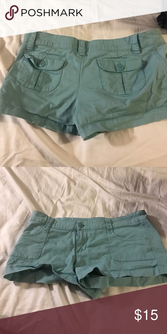 """Mossimo Shorts teal size 11 Very comfortable Shorts size 11. 2/3"""" inseam Mossimo Supply Co Shorts"""