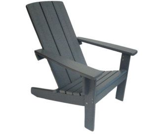 Adirondack Chair Modern Style Made From Poly Lumber Modern