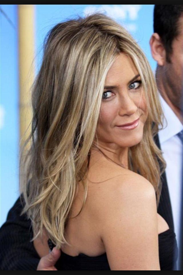 Jennifer Aniston Hair Color Hairskinnails Pinterest