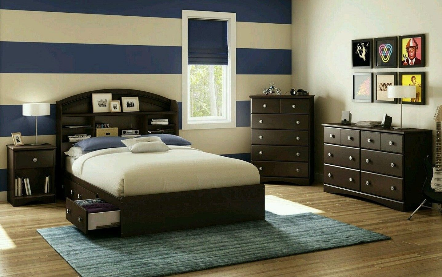 young mens bedroom decorating ideas  modern interior